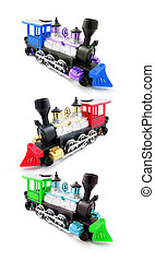 Miniature Train Models - Miniature Train Modes on Isolated...