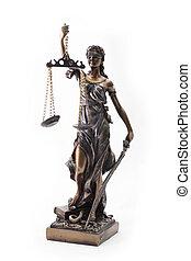 Themis, estatua,