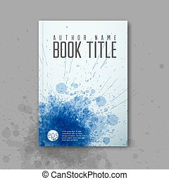 Modern Vector abstractbook cover template