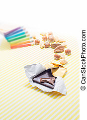 Holiday Season Chocolate Bar - Holiday season chocolate bar...