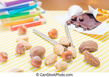 Holiday Season Snacks - Holiday season chocolate candy and...