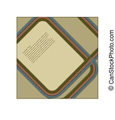 Retro Design - Retro design for use in a poster etc.