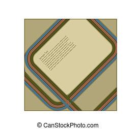 Retro Design - Retro design for use in a poster etc