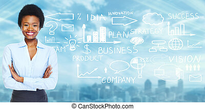 African american business woman - African american business...