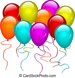 Balloons - Illustration of balloons Available in both jpeg...