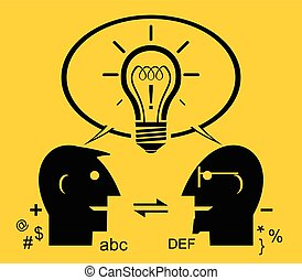 Effective communication - illustration of Effective...