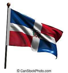 High resolution flag of Dominican Republic - Flag of...