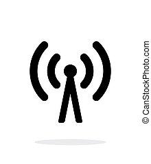 célula, telefone, torre, ícone, ligado,...