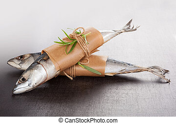 Delicious fresh mackerel fish. - Delicious fresh mackerel...