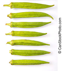 Okra Or Ladies Fingers Vegetables - Okra or ladies fingers...