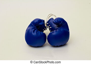 isolated object - Boxing gloves on a white background....