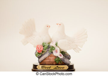 isolated object - Dove gift set on a white background