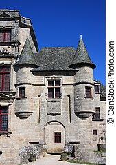 Entrance to Chateau de Sedieres - The entrance to Chateau de...