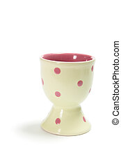 Egg Cup on White Background