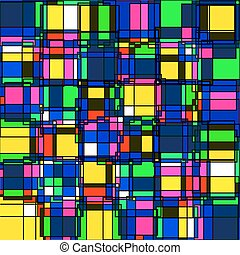 abstract pattern3 - vector seamless abstract pattern in...