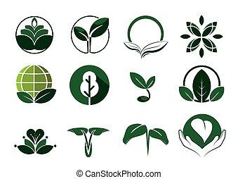 Nature symbol - Nature vector graphic symbol
