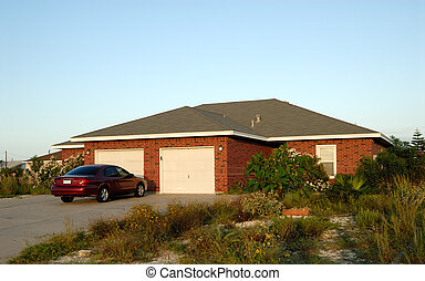 House and car in the south of United States