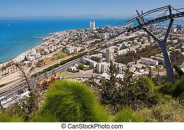 Haifa city of the carmel