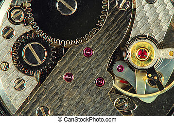 Clock - Mechanism of old clock - sprockets and ruby gems in...