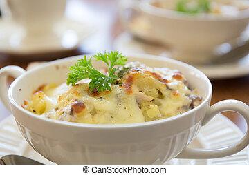 Mashed potato - mashed potato