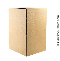 brown boxe recycle - brown boxes recycle isolated on white.