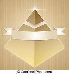 Pyramid of enlightened - illustration of Pyramid of...