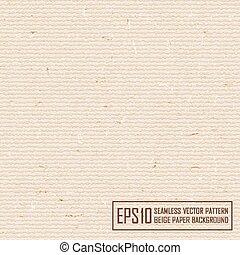 beige paper - Textured beige paper with natural fiber parts....