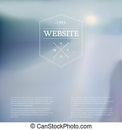 Vector web and mobile interface background.