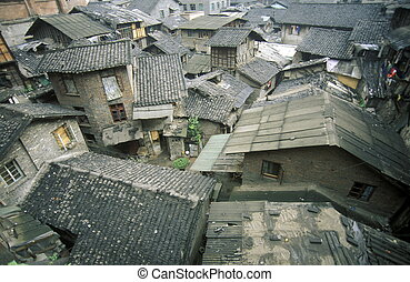 ASIA CHINA CHONGQING - the city of Chongqing in the province...