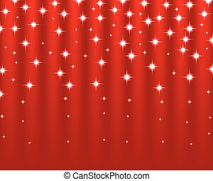 Christmas red shiny background