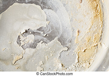Carbonate scale - Close up carbonate scale in bottom of...