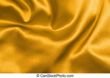 Gold satin - Beautiful and shiny golden satin background -...