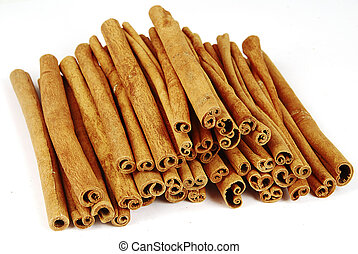 Pile of cinnamon - Big pile of spicy cinnamon sticks...