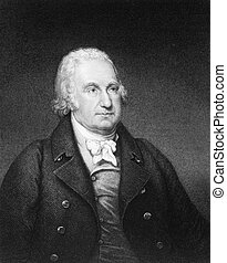 John Eager Howard 1752-1827 on engraving from 1835 American...