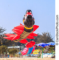 CHA AM BEACH - MARCH 9: 15th Thailand International Kite...
