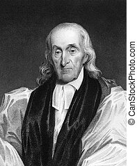 William White 1748-1836 on engraving from 1834 Bishop of...
