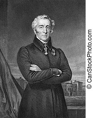 Arthur Wellesley, 1st Duke of Wellington (1769-1852) on...