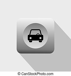 vehicle icon - land vehicle icon theme vector art...