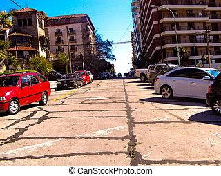 Calle en subida - calle