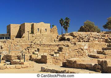 Caesarea Maritima National Park - Ruins in Caesarea Maritima...