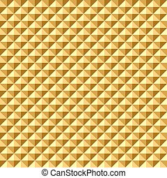 Seamless golden geometric texture - Seamless golden...