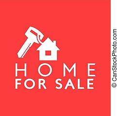 Label Design : Sale Home