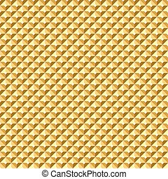 Seamless golden relief texture - Seamless golden geometric...