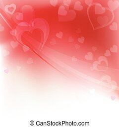 Valentines day background, vector