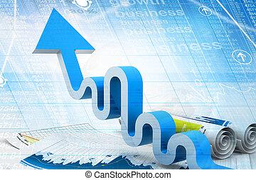 Economical Business graph