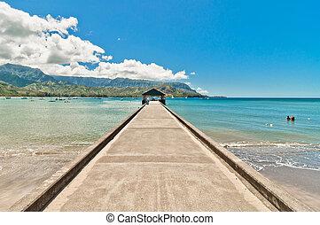 Hanalei Bay, Kauai Island - Hawaii