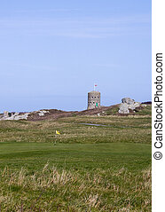 loophole towers in Guernsey - loophole towers at various...