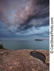 Gemstone skies fromr Pearl Beach Broken Bay Australia - Dusk...