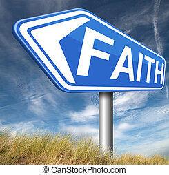 faith and trust - Faith and trust in God and Jesus