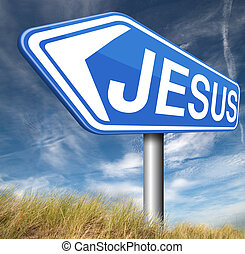 Jesus Christ - Jesus leading way to the lord faith in savior...
